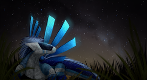 Shine on, Space Dragon by TheDraconicBard