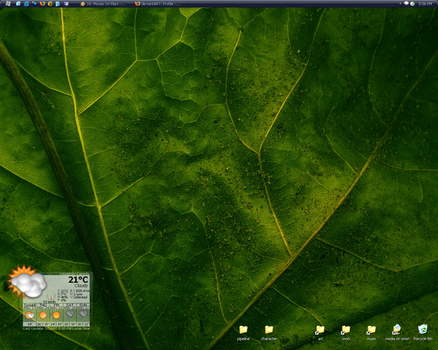 MyDesktop by abstractIntention