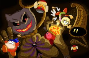 Kirby OoD Ch. 3 Scene - Wickett the Scarecrow by ChronoWeapon