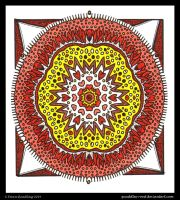 Everything is Beautiful Mandala by Quaddles-Roost