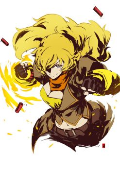 Yang Xiao Long by the-hary
