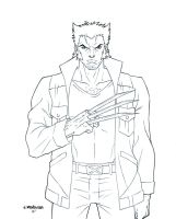Logan Lineart by wardogs101