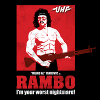 UHF Rambo Weird Al by coffeestained