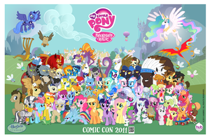 16,000 by PonyComicConPoster