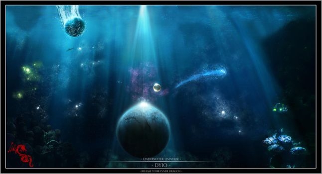 Universe Underwater by dyio
