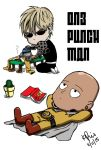 One Punch Man Chibi Tablet Drawing by KimikoRei07