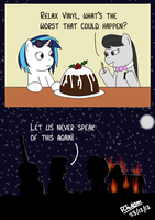 The Hearth's Warming Pudding Incident by bobthedalek
