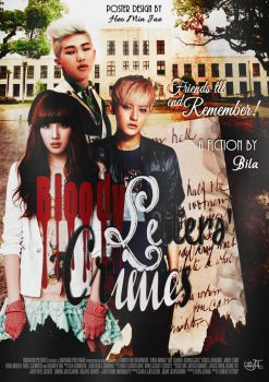 Bloody Letters' Crimes #1 | Fanfiction Poster by heominjae