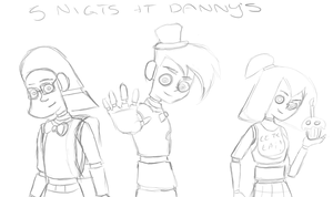 Five Night's at Danny's WIP by DeannaPhantom13