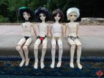BJD Swimsuit Edition - Contestants 1 by Shuichiboy