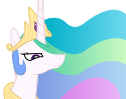 old celestia vector by Mihaaaa