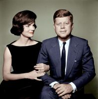 Jackie and John Kennedy by KraljAleksandar