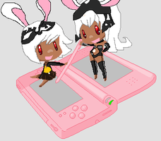 Fran and Mjrn's DS by MjrnViera