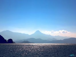 The Blue Turkish Landscape by CChrieon