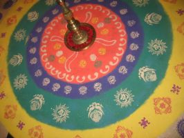 Intense Rangoli by AbstractWater