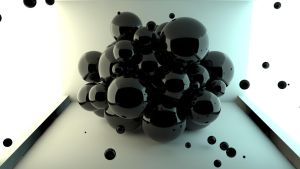 Cinema 4D -- Abstract Spheres by SMOKEYoriginalHD
