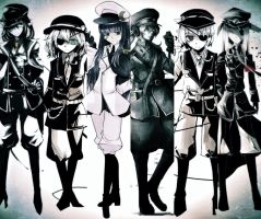 Touhou army 4 by Noir-Black-Shooter