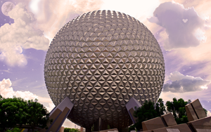 Epcot Wallpaper Version2 by WDWParksGal