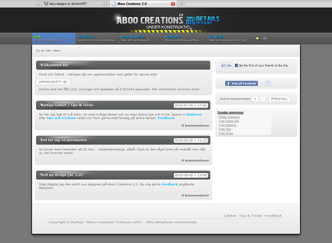 Aboo Creations 2.0 by aboo-designs