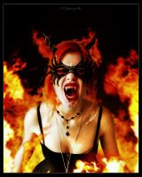 Portait of the Damned_Sangue e Fuoco by KYghost