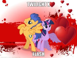 Twilight X Flash by juliannacorrea