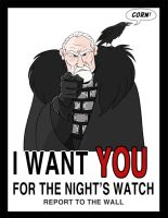 I want you for the Night's Watch by TheSleeperAwakes