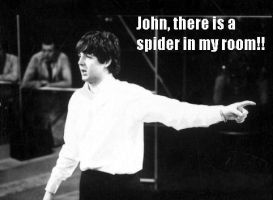 John, there is a spider in my room!! by whisper1236