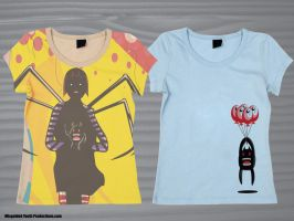 Sinister sweet t-shirt mock up by genecapone