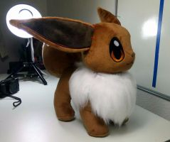 #WIP Wednesday - Eevee by FeatherStitched