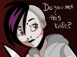 I'm Going to Stab You With It! by CharlotteRay