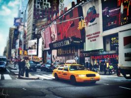Times Square, New York by Anemyah