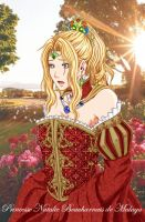 Coloured Art for APT 01: Princesse Natalie by bmesias063