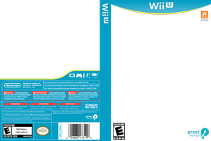 Wii U Box Art Template by preetard
