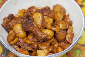 Stewed chestnuts with chicken by patchow
