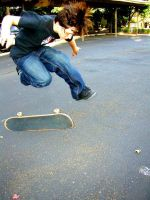 Skateboarding by Dutruex