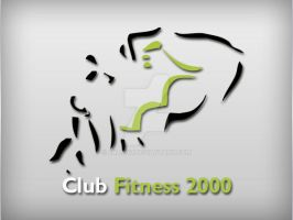 Club Fitness 2000 Logo by Fnayou
