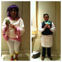 Pokemon BW Iris and Cilan Cosplay by lawlietcookies