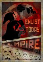 Galactic Empire Propaganda Poster (May 4th) by LordDelightfullyMad