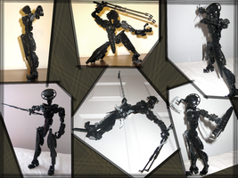 Bionicle: Ninja- Poses by retinence