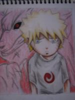 Kid Naruto Sad by TheGaboefects