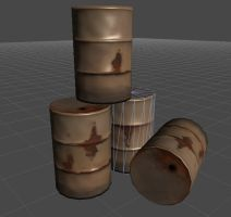 some barrels by Curchack