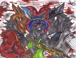 the ultimate mafia war by Wildloverwithwolfs