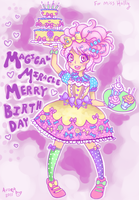 Happy Birthday Miemie-chan by GABBER-princess