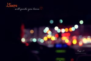 Lights will guide you home by Einas-A