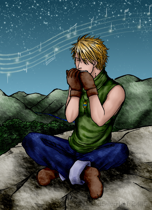 Playing the Melody by MichaelSilverleaf