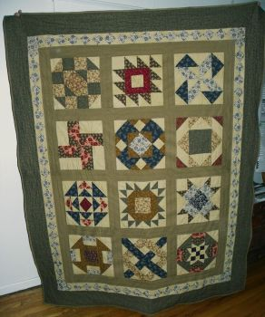 My Pioneer Quilt by SilverWheelYarn