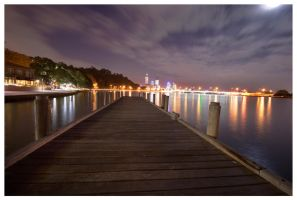 Perth from the Swan by Kazma56