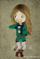 Norick Blanke chibified! by PhaeOBrien