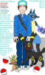 Arpirricus Shore the pokemon trainer! by shea-dp