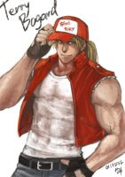 KOF Fan Art - Terry Bogard by FrothTheStargazer